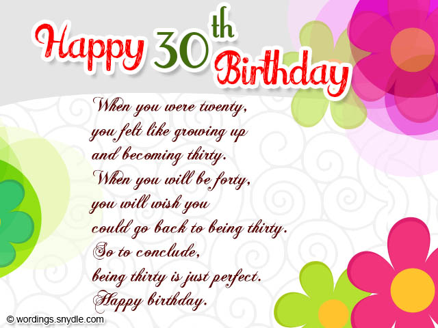 30th birthday wishes quotes and messages allegresse birthday wishes for daughter turning 30 video bookmarktalkfo