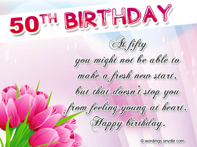 50th birthday wishes messages and 50th birthday card wordings 50th birthday wishes m4hsunfo