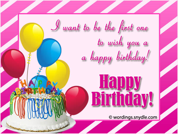 Advance Birthday Wishes, Messages and Advance Birthday Card ...
