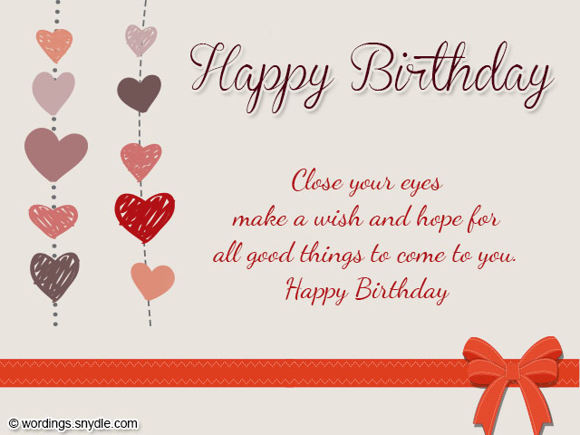 Birthday Wishes for Boyfriend and Boyfriend Birthday Card Wordings – What to Say in a Happy Birthday Card