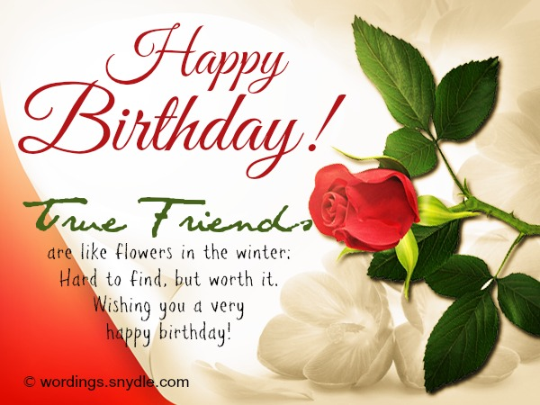 Birthday Wishes Card For Friend ~ Best birthday wishes for a friend wordings and messages