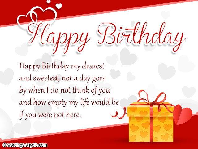 Birthday Wishes for Boyfriend and Boyfriend Birthday Card Wordings – Birthday Greetings to a Lover