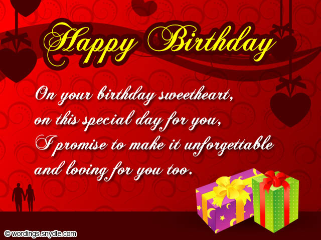 Birthday Wishes for Boyfriend and Boyfriend Birthday Card Wordings ...