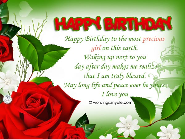 High Quality Birthday Wishes And Messages For Wife Wordings And Messages
