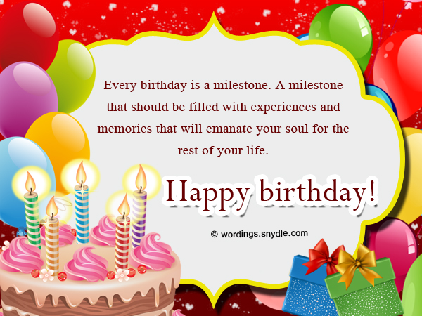 Happy birthday wishes and messages wordings and messages birthday wishes cards bookmarktalkfo Gallery