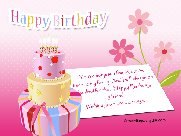 Best 50 birthday wishes for a friend wordings and messages birthday wishes for best friend m4hsunfo