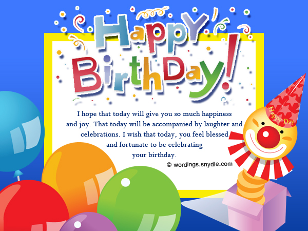 Happy birthday wishes and messages wordings and messages short birthday wishes and messages birthday wishes for cards bookmarktalkfo Choice Image