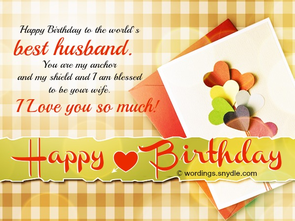 Birthday Wishes For Husband Husband Birthday Messages And Happy Birthday Wishes Images For Husband