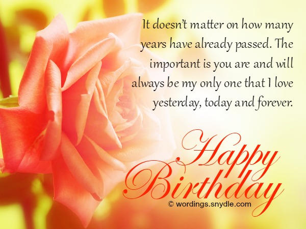 Birthday wishes and messages for wife wordings and messages romantic birthday wishes for wife bookmarktalkfo Gallery