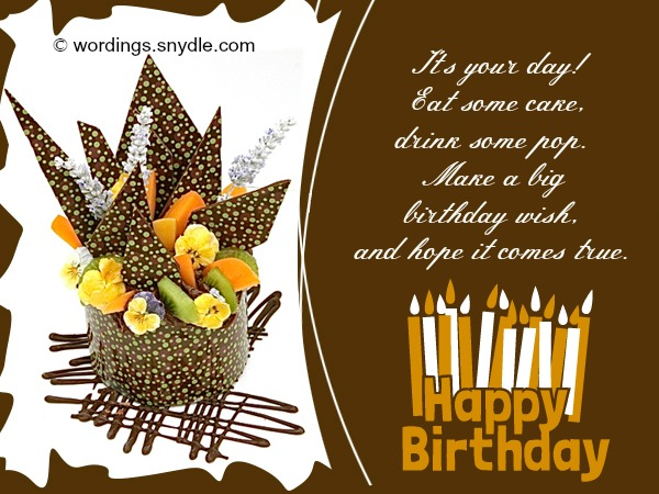 Birthday archives wordings and messages happy birthday wishes and messages m4hsunfo