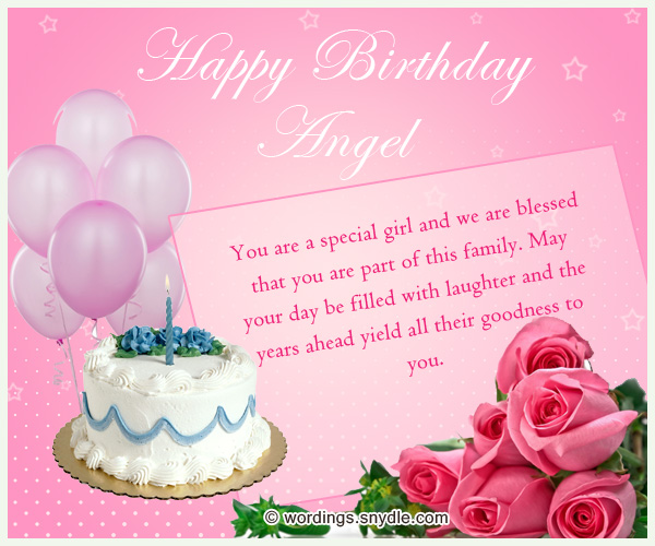 Birthday Wishes for Sister and Birthday Card Wordings for your – Birthday Greeting for Sister
