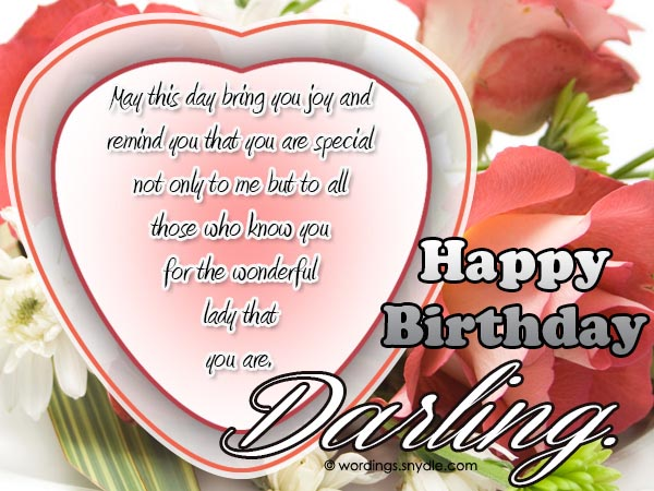 Birthday wishes and messages for wife wordings and messages birthday wording for wife m4hsunfo