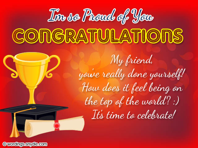 Graduation congratulations messages and wordings wordings and messages graduation congratulations messages m4hsunfo