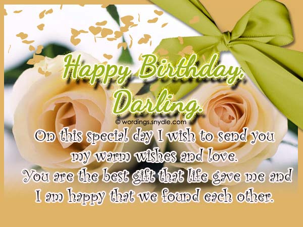 Birthday wishes and messages for wife wordings and messages