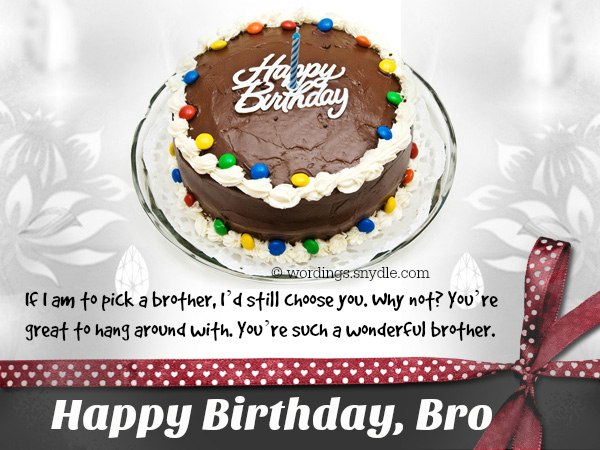 Happy birthday greeting card for brother wordings and messages happy birthday greeting card for brother m4hsunfo