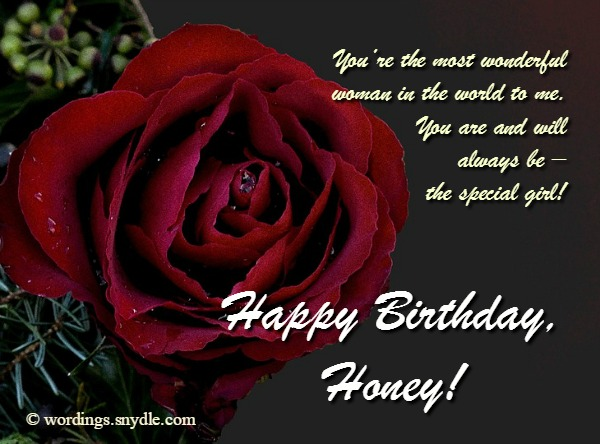 Birthday wishes and messages for wife wordings and messages samples of birthday wishes for wife can help you come up with best notes for your wifes birthday these sweet birthday messages that will light up her m4hsunfo
