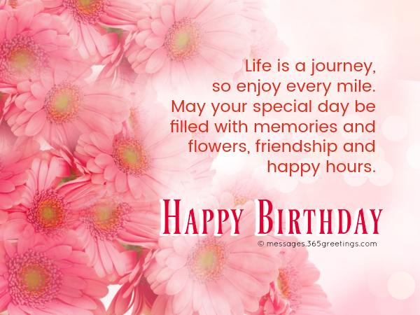 Special happy birthday messages