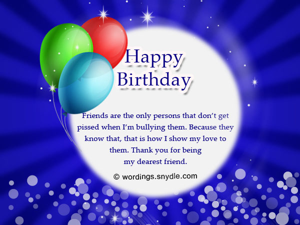 Happy birthday wishes and messages wordings and messages happy birthday wishes for a friend m4hsunfo