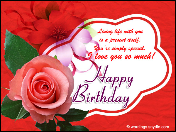 Happy birthday wishes for girlfriend wordings and messages happy birthday wishes for girlfriend m4hsunfo Image collections