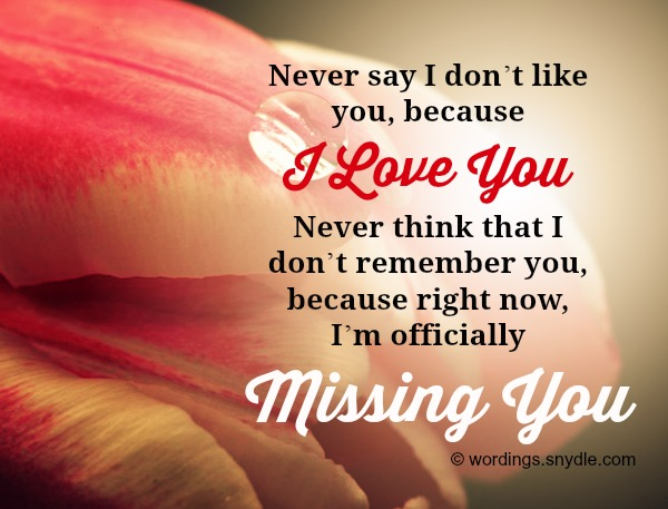 Missing you messages and wordings wordings and messages missing you wordings for her m4hsunfo