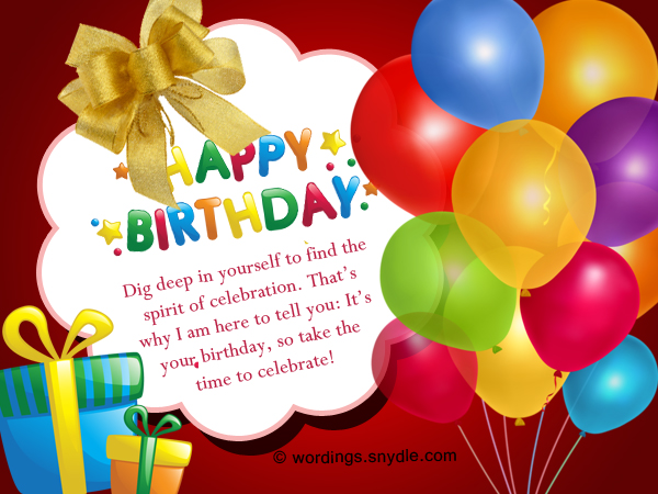 101 Happy Birthday Wishes Messages and Greetings Wordings and – Birthday Greetings Religious