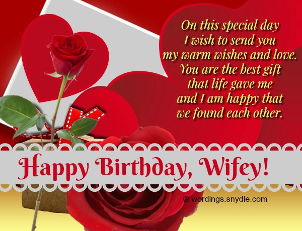 Birthday wishes and messages for wife wordings and messages romantic birthday wishes for wife m4hsunfo