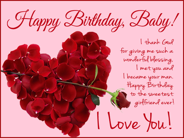 Happy birthday wishes for girlfriend wordings and messages sweet birthday wishes for girlfriend m4hsunfo