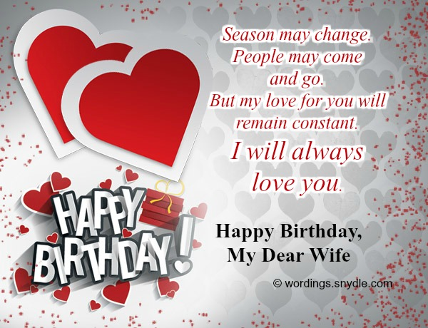 Birthday wishes and messages for wife wordings and messages sweet birthday wishes for wife m4hsunfo