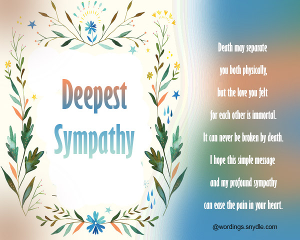 Sympathy card messages and wordings wordings and messages sympathy card and greetings 01 thecheapjerseys Images