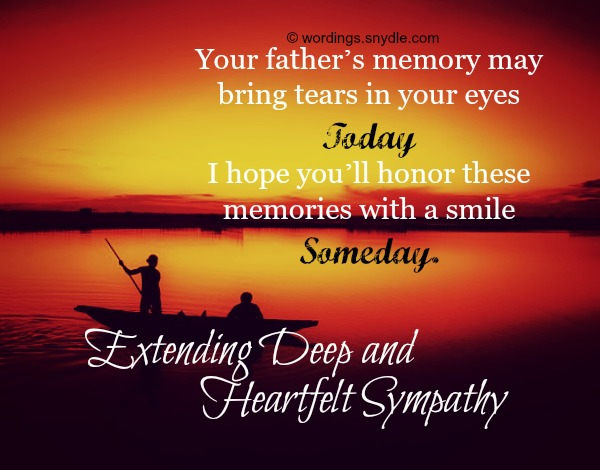 Sympathy Quotes For Loss Of Father Beauteous Sympathy Messages For Loss Of Father Wordings And Messages