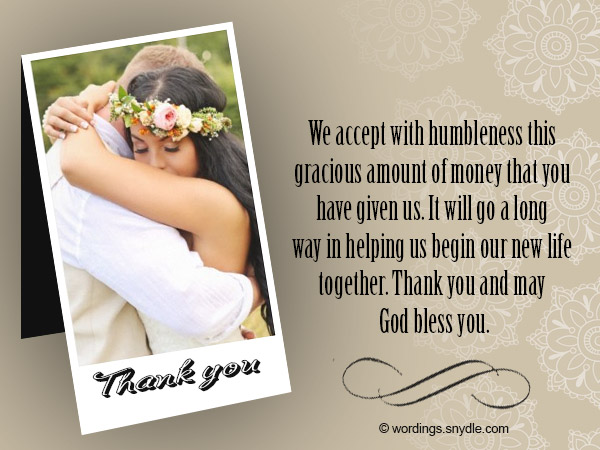 Wedding Thank You Note Thankyounotesforwedding Wedding Thank You