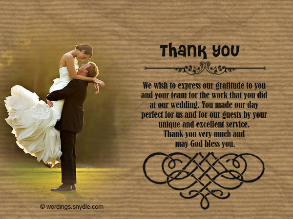 Thank You Message Wedding Gift: How To Write Thank You Cards For Wedding