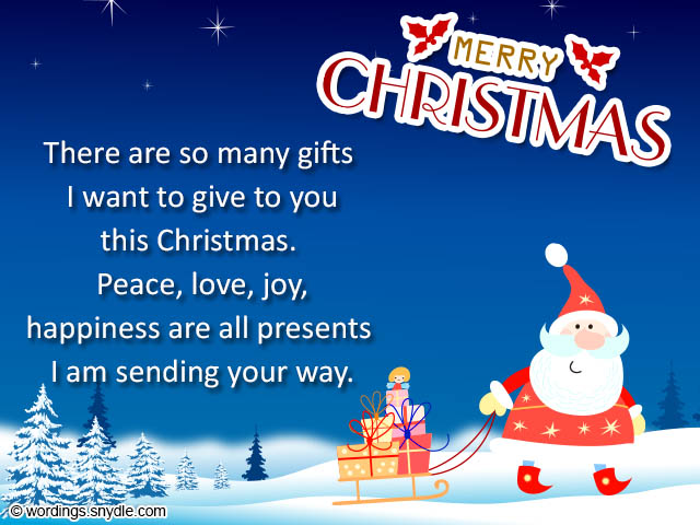 Sample Christmas Card Messages