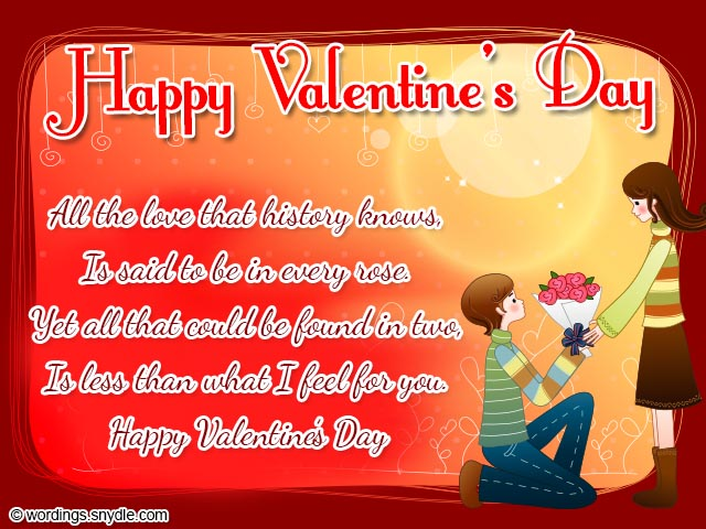 Valentines Day Wishes Be My Valentine Wordings And Messages