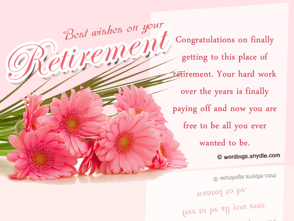 Retirement Wishes, Greetings and Retirement Messages ...