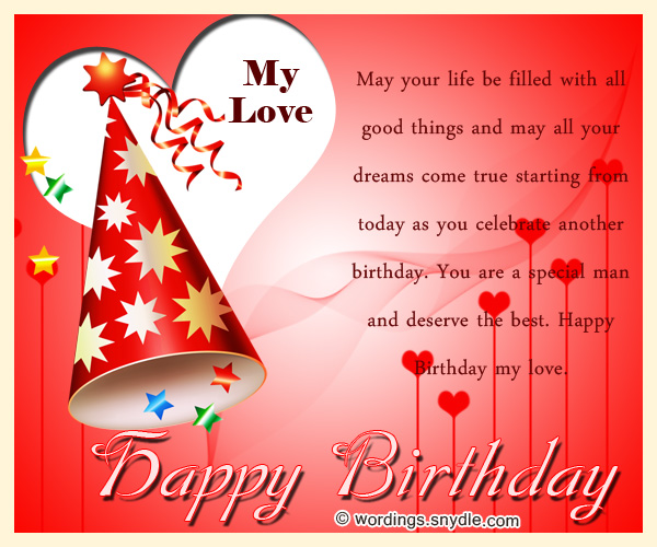 Birthday Wishes for Boyfriend and Boyfriend Birthday Card Wordings – Birthday Cards for Boyfriend