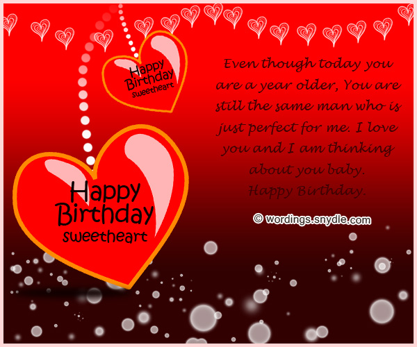 Birthday Wishes for Boyfriend and Boyfriend Birthday Card Wordings – Birthday Love Greeting Cards