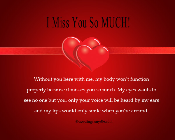 Message to the one you love so much