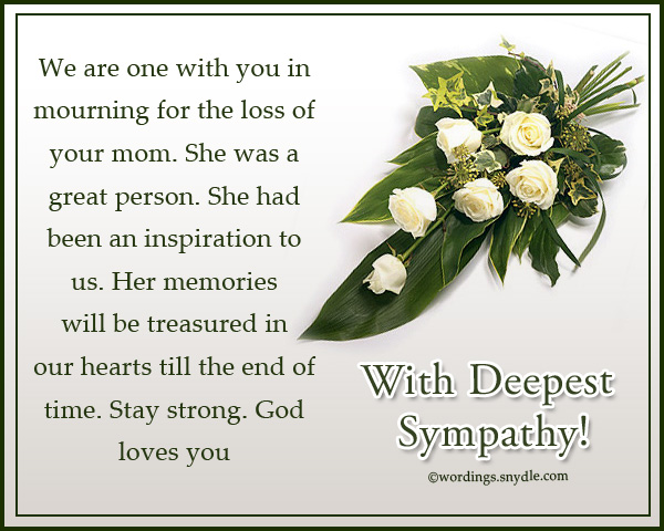 deepest-sympathy-messages-for-loss-of-mother