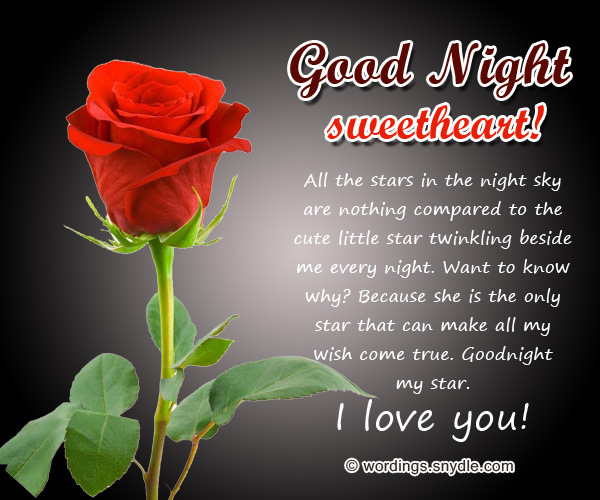 Sweet Goodnight Messages And Cute Goodnight Text Messages Wordings