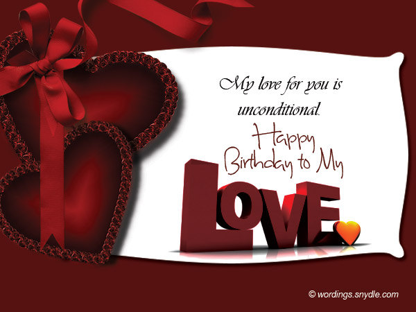 Birthday Card Messages Boyfriend Card Design Template