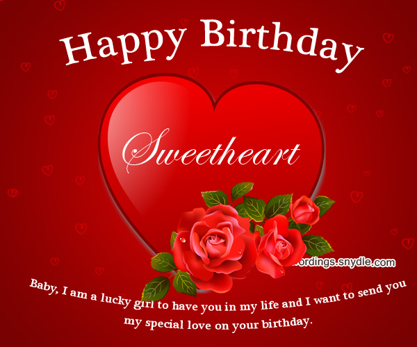 Happy Birthday My Love Messages For Your Boyfriend