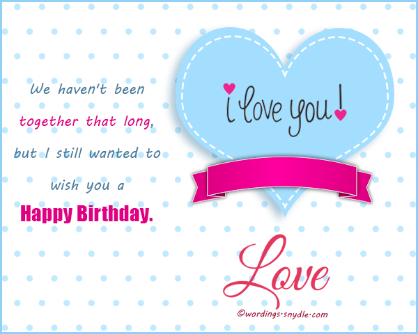 Birthday Wishes For Boyfriend And Card Wordings