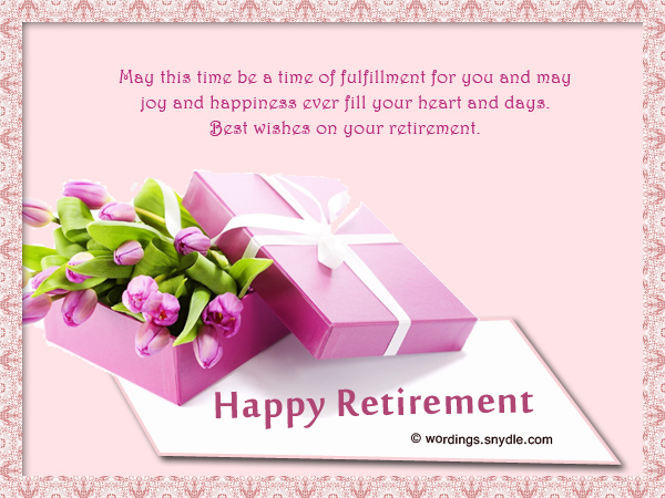 Retirement wishes greetings and retirement messages wordings and happy retirement m4hsunfo