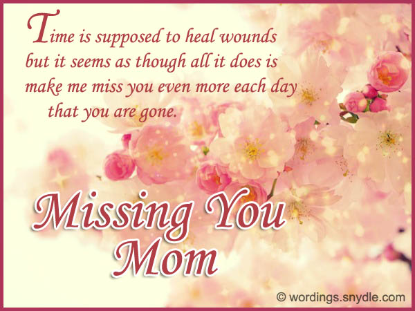 i missing you mom 1) dear mom i still remember the sound of your last breath i can still hear words that you said just before your death i can still feel your hands.