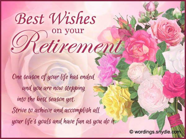 Retirement Wishes, Greetings and Retirement Messages Wordings and ...