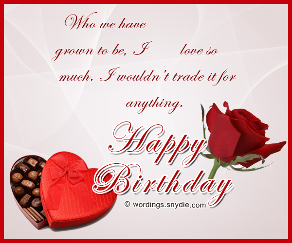 Birthday Wishes for Boyfriend and Boyfriend Birthday Card Wordings – Romantic Birthday Card