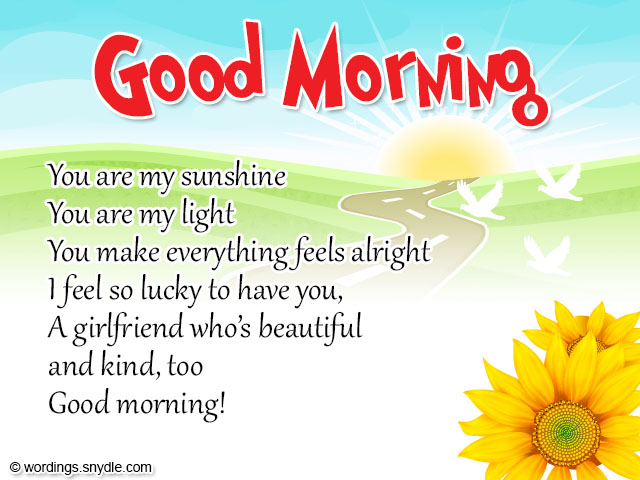 Good Morning All Email : Romantic good morning messages wordings and