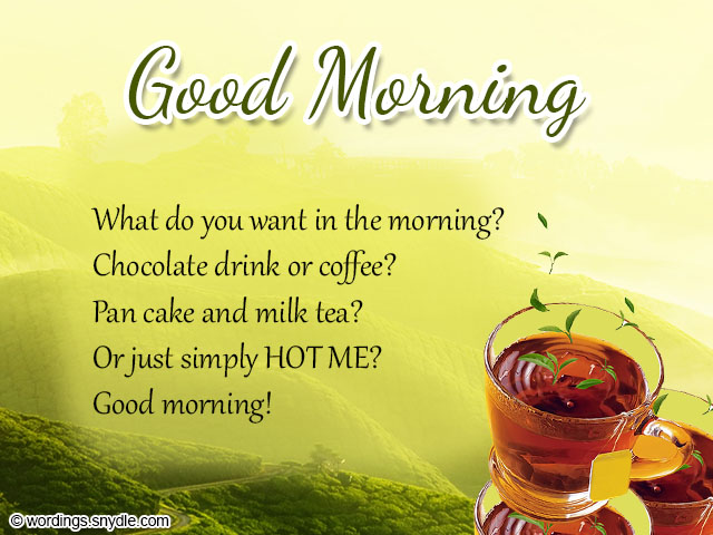 Romantic good morning messages wordings and messages sweet good morning messages m4hsunfo