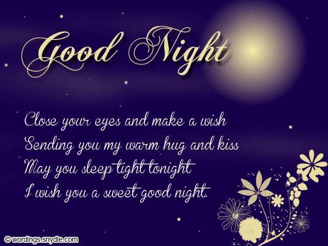 Love Quotes For Her To Say Goodnight : Sweet Goodnight Messages and Cute Goodnight Text Messages - Wordings ...